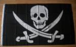Pirate Jack Rackham Large Flag - 5' x 3'.